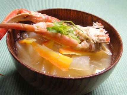 セコガニ,味噌汁