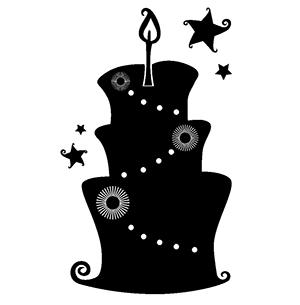 クリスマスのイラスト白黒モノクロ 無料おしゃれ 旬shun